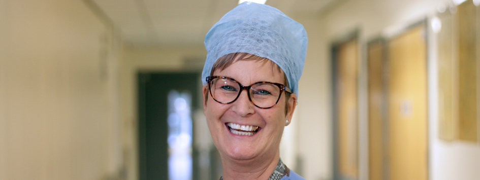 smiling female surgeon