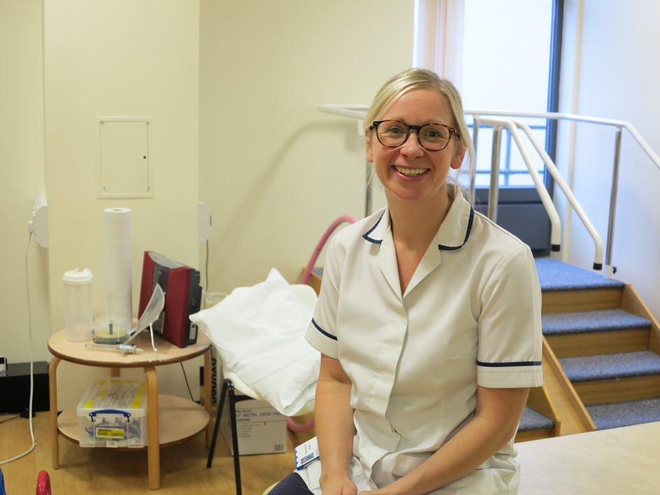 Physiotherapist Sophie returned to practice