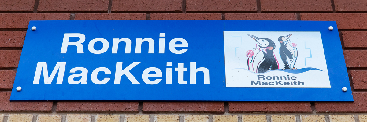 Ronnie Mackeith sign