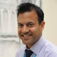 Dr Subramanian, Consultant at the University Hospitals of Derby and Burton NHS Foundation Trust