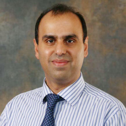 Mr Anish Bali, Consultant at the University Hospitals of Derby and Burton NHS Foundation Trust