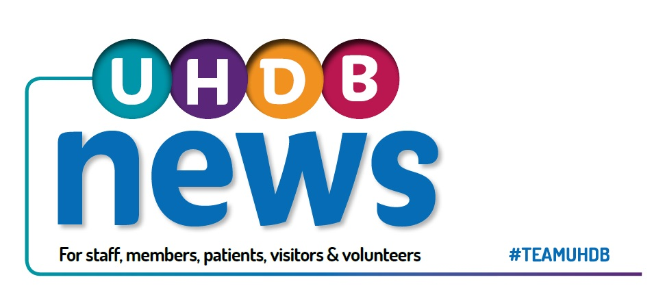 University Hospitals of Derby and Burton News Logo
