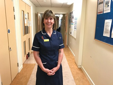 Louise Wood Critical Care Sister