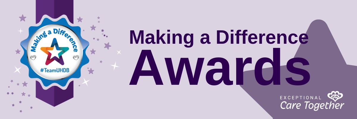 Making a Difference Awards Banner